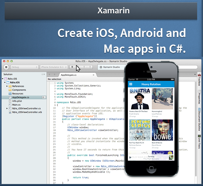 Xamarin - Apps in C# for iOS, Android and Mac   Evereq